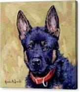 The Guard Dog Canvas Print