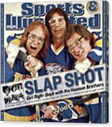 The Hanson Brothers Sports Illustrated Cover Canvas Print