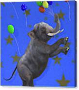 The Happiest Elephant Canvas Print