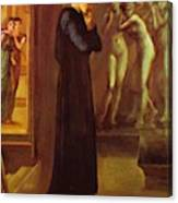 The Heart Desires The Pygmalion Series 1870 Canvas Print