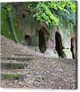 The Hermit's Cave Canvas Print