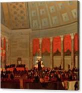 The House Of Representatives, 1822 Canvas Print
