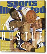 The Hustle The Numbers That Measure The Attitude That Sports Illustrated Cover Canvas Print