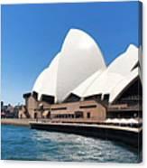The Iconic Sydney Opera House.  Canvas Print