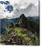 The Inca Trail, Machu Picchu, Peru Canvas Print