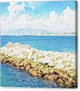 The Jetty in Manzanillo, Mexico Canvas Print