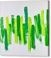 The Kingdom Of Green Canvas Print