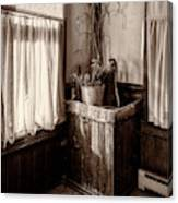 The Kitchen Water Pump Canvas Print
