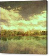 The Lake - Panorama Canvas Print