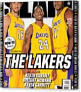 The Lakers SLAM Cover Canvas Print