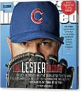 The Lester Factor Sports Illustrated Cover Canvas Print