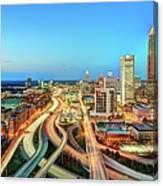 The Lifeblood Of Atlanta Canvas Print