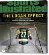 The Logan Effect. Lives Lost, Lives Saved Healing And Sports Illustrated Cover Canvas Print