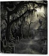 The Lost Cemetery Canvas Print