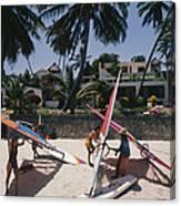 The Lure Of Lamu Canvas Print