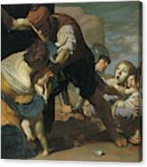 The Massacre Of The Innocents  After       Canvas Print