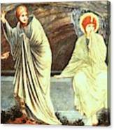 The Morning Of The Resurrection 1882 Canvas Print