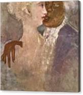 The Mulatto And The Sculpturesque White Woman 1913 Canvas Print