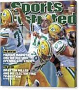 The Mvp Qb The Mind Game Of Aaron Rodgers Sports Illustrated Cover Canvas Print