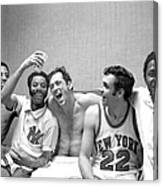 The New York Knicks Starting Five -- Canvas Print