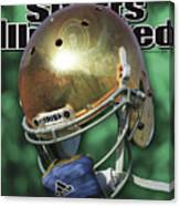 The Notre Dame Miracle Sports Illustrated Cover Canvas Print