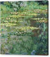 The Nympheas Basin - Digital Remastered Edition Canvas Print