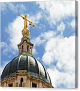 The Old Bailey, Central Criminal Court Canvas Print