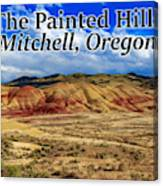 The Painted Hills Mitchell Oregon 02 Canvas Print