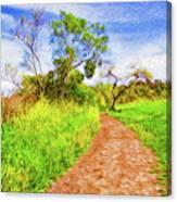 The Path that Lies Ahead II Canvas Print