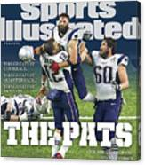 The Pats Super Bowl Li Champs Sports Illustrated Cover Canvas Print