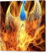 The Phoenix Rises From The Ashes Canvas Print