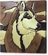 The Proud Husky Canvas Print