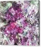 The Quiet Purple Clouds Canvas Print