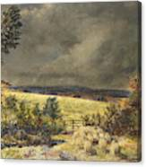 The Rainbow, 1858 Canvas Print
