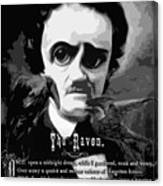The Raven Edgar Allan Poe Canvas Print
