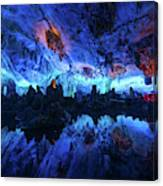 The Reed Flute Cave, In Guangxi Province, China Canvas Print