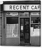 The Regent Cafe Canvas Print