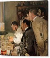 The Research. Artist Sorolla Y Bastida Canvas Print