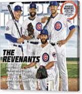 The Revenants, 2016 Mlb Baseball Preview Issue Sports Illustrated Cover Canvas Print
