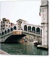 The Rialto Bridge  Canvas Print