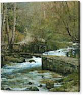 The River Psirzha Canvas Print