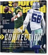 The Rodgers Connection Arm. Legs. Mind. Heart. Sports Illustrated Cover Canvas Print