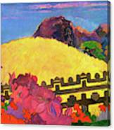 The Sacred Mountain - Digital Remastered Edition Canvas Print