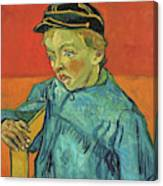The Schoolboy, Camille Roulin - Digital Remastered Edition Canvas Print