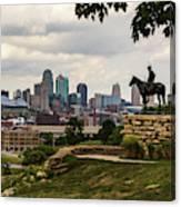 The Scout Kansas City Canvas Print