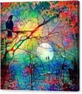 The Secret Path Of Night Canvas Print