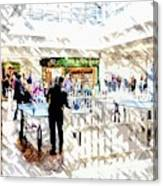The Shopping Centre Canvas Print