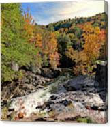 The Sinks On Little River Road In Smoky Mountains National Park Canvas Print
