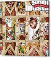 The Sistine Chapel Of Sports, 50th Anniversary Issue Sports Illustrated Cover Canvas Print