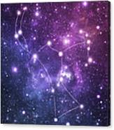 The Stars Constellation Of Orion Canvas Print